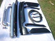 Mercedes Benz W107 Bumper Stainless Steel